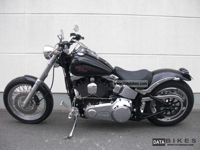 2007 Harley Davidson Fxstc Softail Custom Bike Farm
