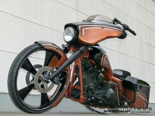 2006 Harley Davidson  FLHXI Street Glide * Copper * Graphix excavator Motorcycle Chopper/Cruiser photo