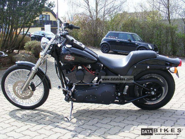 2000 Harley Davidson  Softail Night Train Motorcycle Chopper/Cruiser photo