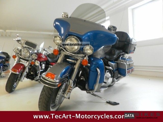 1996 Harley Davidson  1996-E-Glide Ultra Classic two-tone Motorcycle Tourer photo