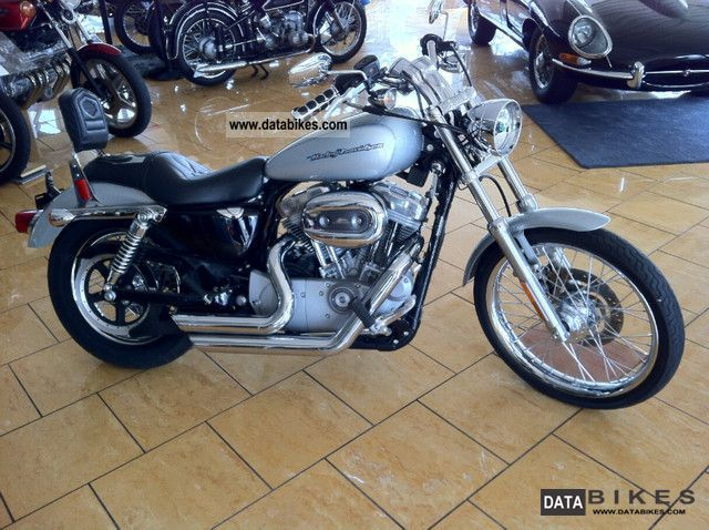 2005 Harley Davidson  Sportster 883 only 13,666 miles!!!! Motorcycle Chopper/Cruiser photo