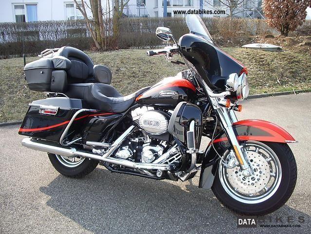 2007 Harley Davidson  Screamin Eagle Ultra Classic Electra Glide Motorcycle Chopper/Cruiser photo