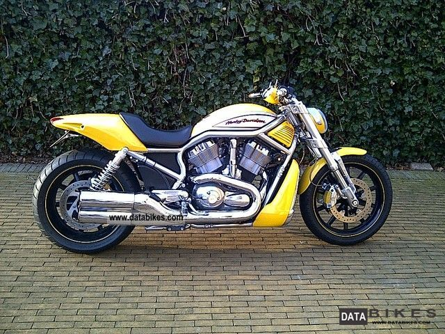 2005 Harley Davidson  VRSCR Streetrod Motorcycle Streetfighter photo