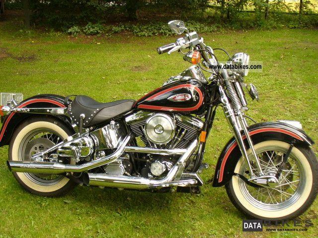 1998 Harley Davidson  Heritage Springer Motorcycle Chopper/Cruiser photo