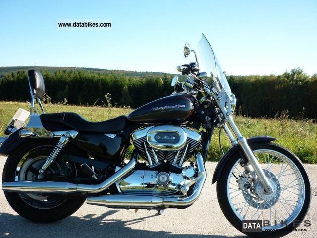 2006 Harley Davidson  XL 1200 C Motorcycle Chopper/Cruiser photo
