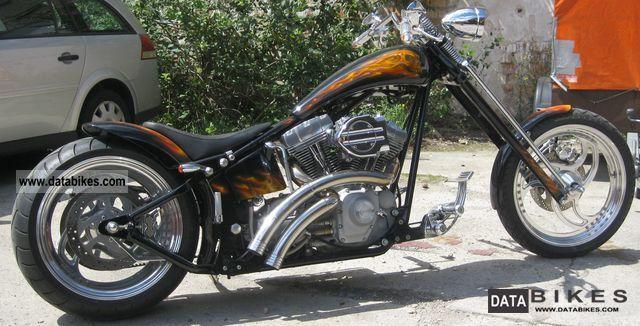 2007 Harley Davidson  Custom Bike Custom Chopper Show Motorcycle Chopper/Cruiser photo