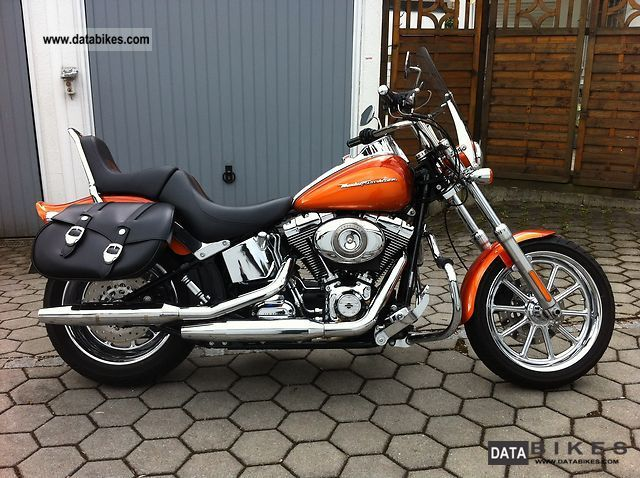 2008 Harley Davidson  FXSTC Softail Motorcycle Motorcycle photo