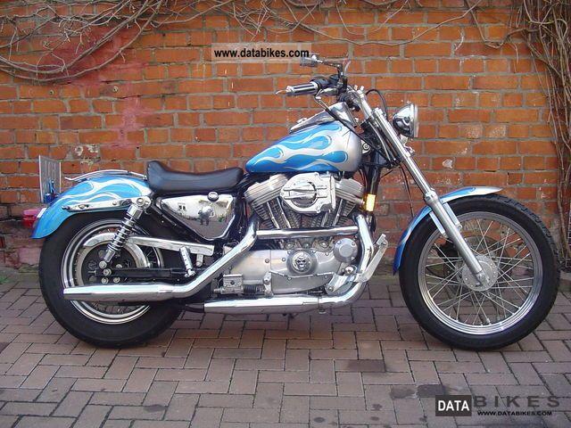 1996 Harley Davidson  xl 1200 Motorcycle Chopper/Cruiser photo