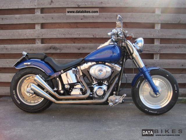 2000 Harley Davidson  Fatboy Motorcycle Chopper/Cruiser photo