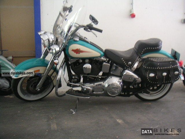 1990 Harley Davidson  Heritage Softail Classic FXST * AS NEW * Motorcycle Chopper/Cruiser photo