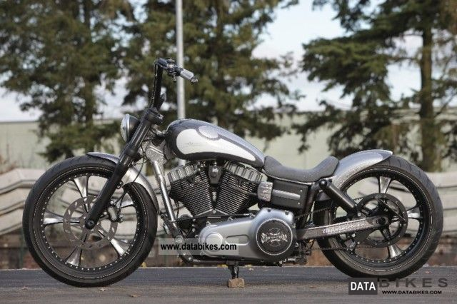 2011 Harley Davidson  FXDB Dyna Street Bob Thunderbike novelty-Might Motorcycle Chopper/Cruiser photo