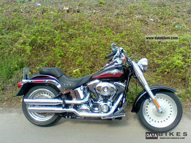 2007 Harley Davidson  2007er FLSTF Fat Boy (1.584ccm / 6 Speed) Motorcycle Chopper/Cruiser photo
