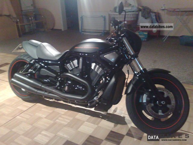 2010 Harley Davidson  Night Rod special Black Denim Motorcycle Sport Touring Motorcycles photo