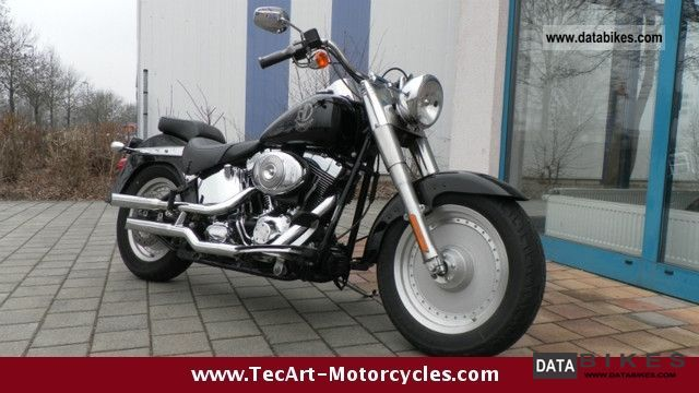 2006 Harley Davidson  Thru 2006 Softail Fat Boy Jack Daniels Edition Motorcycle Chopper/Cruiser photo