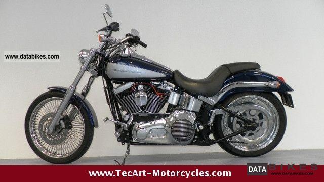 2002 Harley Davidson  2002s SOFTAIL DEUCE, excellent condition, 200 rear wheel Motorcycle Chopper/Cruiser photo