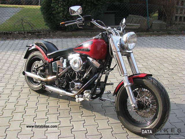2000 Harley Davidson  Softail Motorcycle Chopper/Cruiser photo