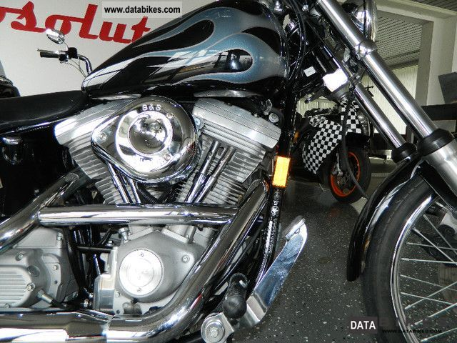 1998 Harley Davidson  Softail Custom, No Fat Boy, Heritage, Duce Motorcycle Chopper/Cruiser photo