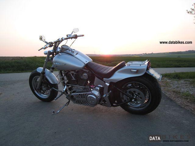 1994 Harley Davidson  FXST Motorcycle Chopper/Cruiser photo