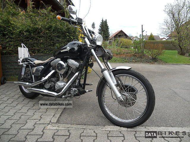 1986 Harley Davidson  FXR Motorcycle Chopper/Cruiser photo
