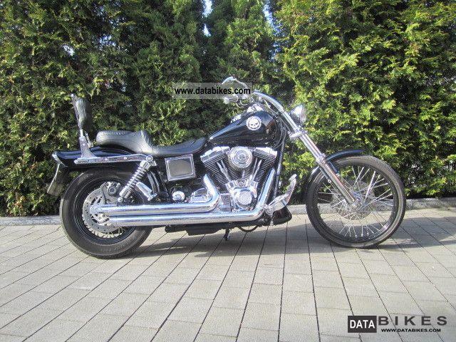 1999 Harley Davidson  FXDWG Dyna Wide Glide Motorcycle Chopper/Cruiser photo