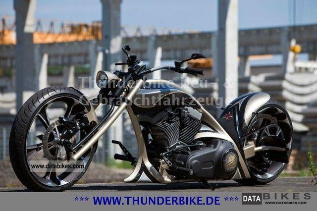 2010 Harley Davidson  Unique 25th anniversary Thunderbike Motorcycle Chopper/Cruiser photo