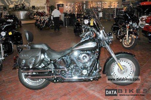 Harley Davidson  Fat Boy FLSTF 1.Hand 2008 Chopper/Cruiser photo