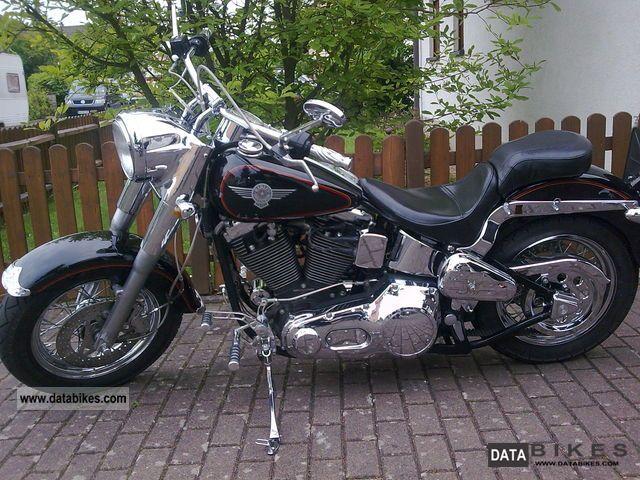 1993 Harley Davidson  Fat Boy Motorcycle Chopper/Cruiser photo