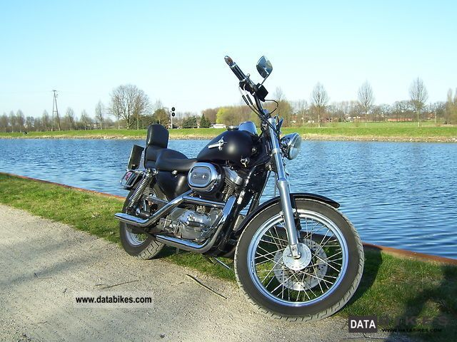 1995 Harley Davidson  XL/H1200 Motorcycle Chopper/Cruiser photo