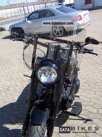 1997 Harley Davidson  FLSTF Fat Boy Custom Motorcycle Chopper/Cruiser photo