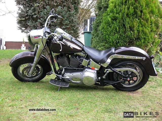 2005 Harley Davidson  Fatboy Heritage Motorcycle Chopper/Cruiser photo