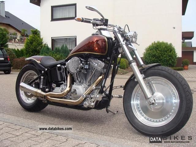 2002 Harley Davidson  softail Motorcycle Chopper/Cruiser photo