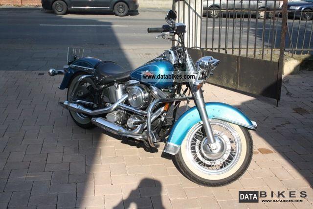 1995 Harley Davidson  Heritage Softail FXST Motorcycle Chopper/Cruiser photo
