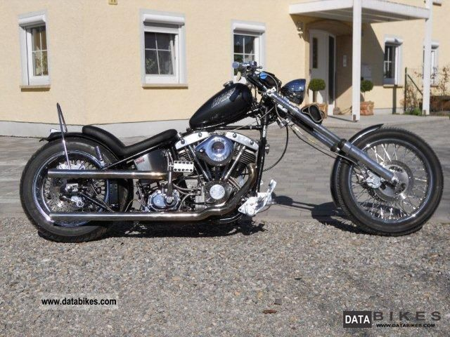 Harley Davidson  Shovel in the wishbone rigid frame 1948 Vintage, Classic and Old Bikes photo