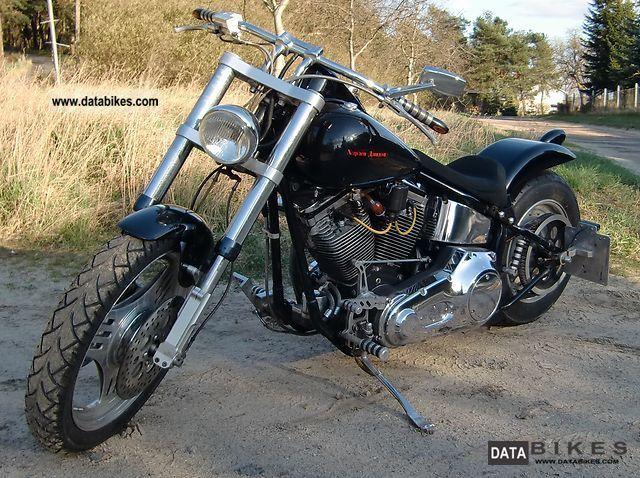 2002 Harley Davidson  Softail Custom Motorcycle Chopper/Cruiser photo