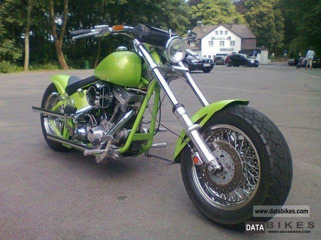 1996 Harley Davidson  SOFTAIL CUSTOM BIKE Motorcycle Chopper/Cruiser photo