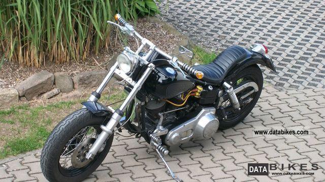 1982 Harley Davidson  Shovel FX Motorcycle Chopper/Cruiser photo