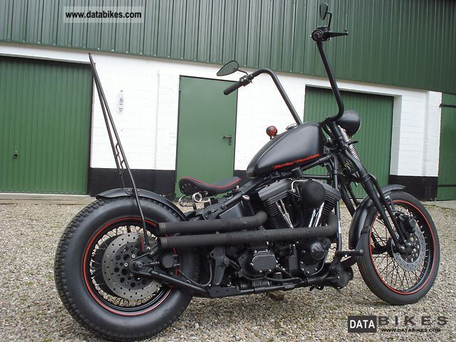 1994 Harley Davidson  ~ Very old school Springer Softail Motorcycle Chopper/Cruiser photo
