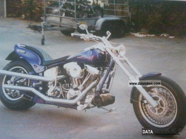 1996 Harley Davidson  Shot Gun Cycles Motorcycle Chopper/Cruiser photo
