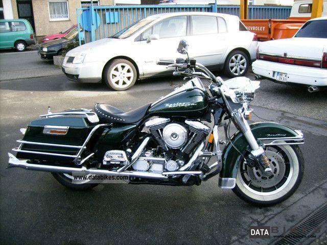 1997 Harley Davidson Road King Chopper Bike Pictures