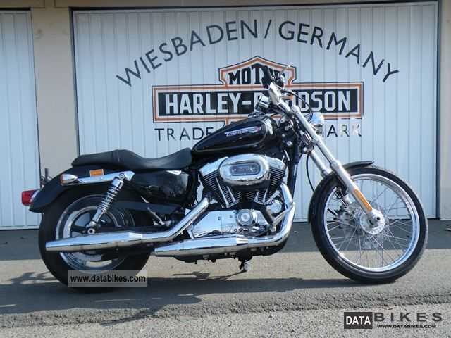 2009 Harley Davidson  XL1200C Sportster 1200 Custom Motorcycle Chopper/Cruiser photo