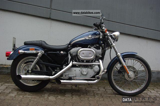 2003 Harley Davidson  Sportster 100 model year as new Motorcycle Chopper/Cruiser photo