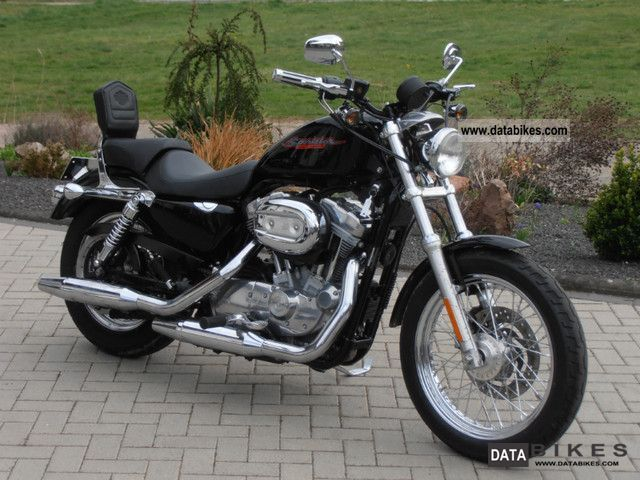 2006 Harley Davidson  Sportster 883 Motorcycle Chopper/Cruiser photo