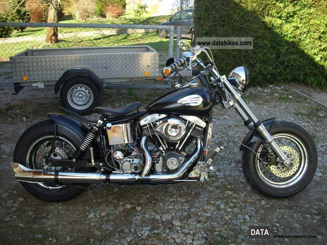 Harley Davidson  Shovel 1978 Vintage, Classic and Old Bikes photo