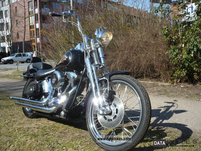 Harley Davidson  Springer Softtail Classic EVO + plenty of chrome 1996 Chopper/Cruiser photo