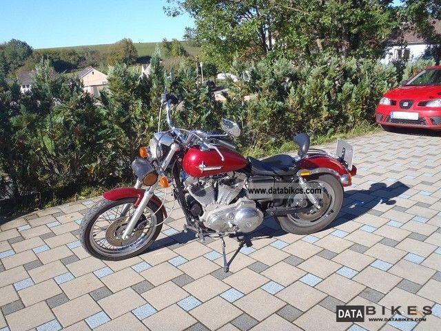 1990 Harley Davidson  Sportster 883/1200 Motorcycle Chopper/Cruiser photo