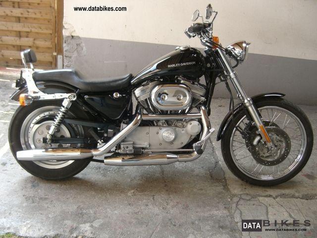 2001 Harley Davidson  Sportster 1200 Custom Motorcycle Motorcycle photo