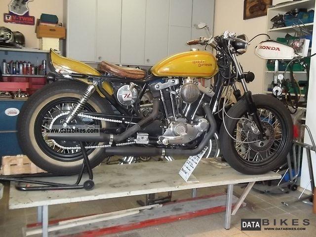 1983 Harley Davidson  XL2 Ironhead, Bobber, Old School, Shovelsportster Motorcycle Chopper/Cruiser photo