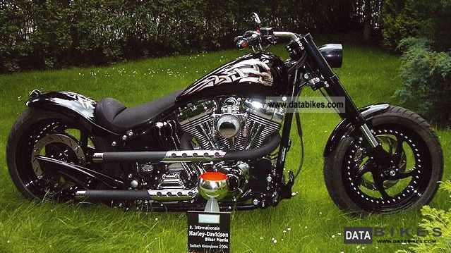 2002 Harley Davidson  Fat Boy Custom Bike \ Motorcycle Other photo