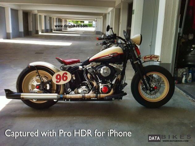 2007 Harley Davidson  Softail Springer - Old School, Custom Motorcycle Chopper/Cruiser photo
