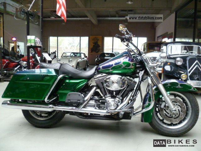Harley Davidson  Rod King ex Police Custom Paint 2003 Chopper/Cruiser photo